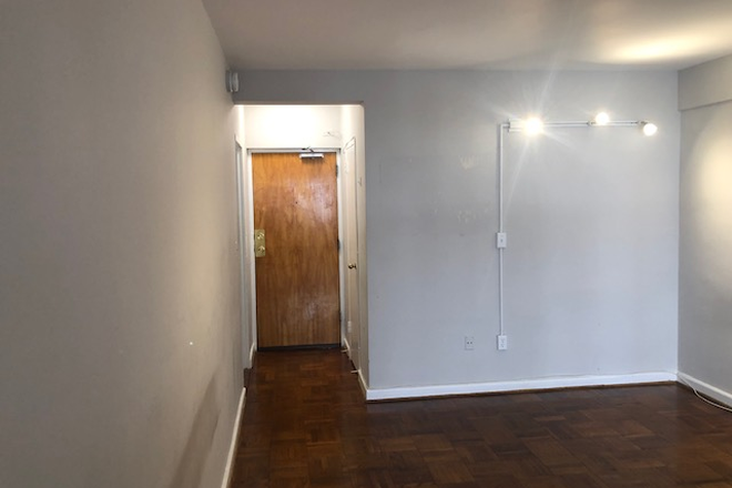A View of the Front Door - Studio Apartment on GWU Campus