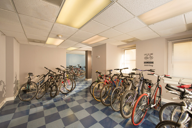 Bicycle Storage Area