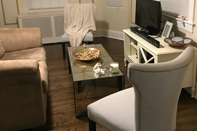 Living Room - Spacious NE DC Home Walking Distance to Blue/Silver Line Rental