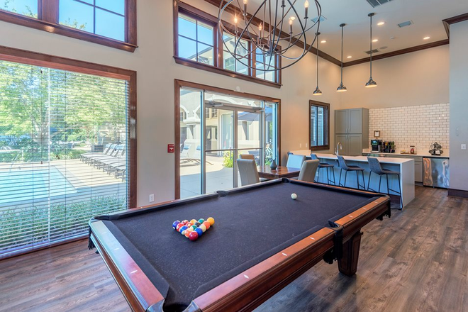 Billiards room - The Estates at River Pointe Apartments