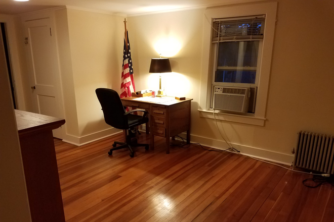 Study / Office Oak Desk - Fully Furnished Home $800/Room - 61 Riverview Drive, Gill MA - 18 mi from UMass Rental