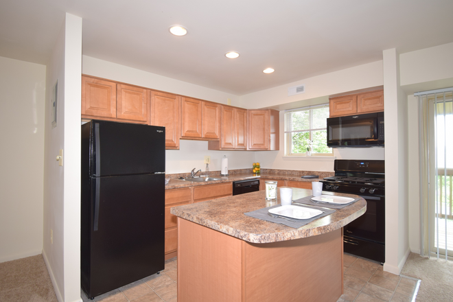 Spacious Kitchen - Fellowship Court Apartments