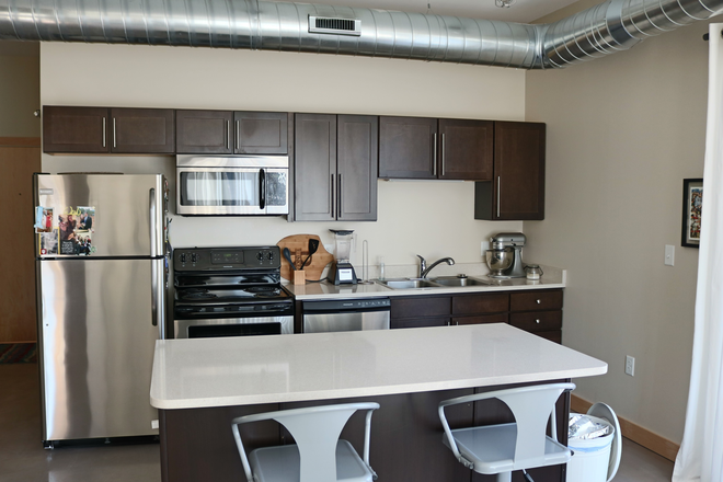 Kitchen - Upscale Urban Loft Available at 501 Brady Lofts!