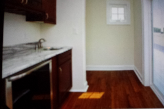 Roof top deck wine cooler and wet bar - New upscale Manayunk townhouse fully furnished 5 bedrooms available 7/1/2021.
