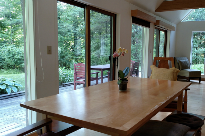 Dining area - Beautiful Mountain Vista Location in Private Home Rental