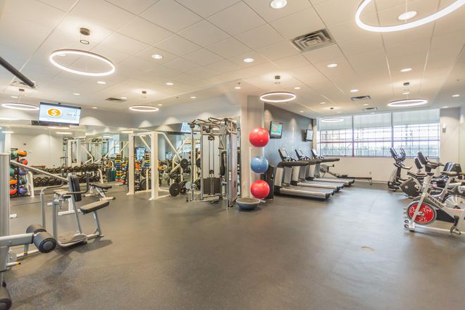 Brand New fitness center with new Life Cycle fitness equipment