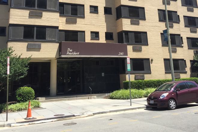 The President Condominium Building - Renovated Fully Furnished Studio - Foggy Bottom Apartments