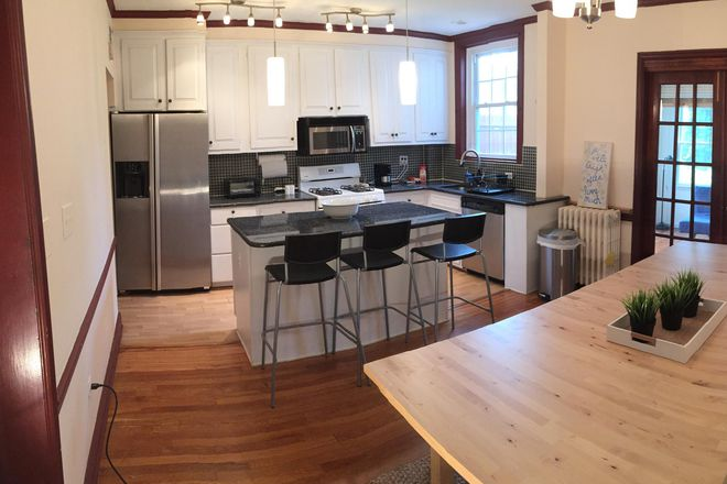 Main level open kitchen and dining area - Wonderful Townhouse  - Next to Georgetown University