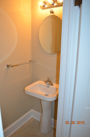 1st floor powder room - Beautiful, spacious home on lovely street - must see! (walk to St. Joe's Univ.) Townhome