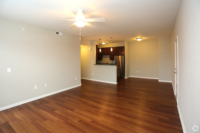 Living Area - Mills Crossing Apartments