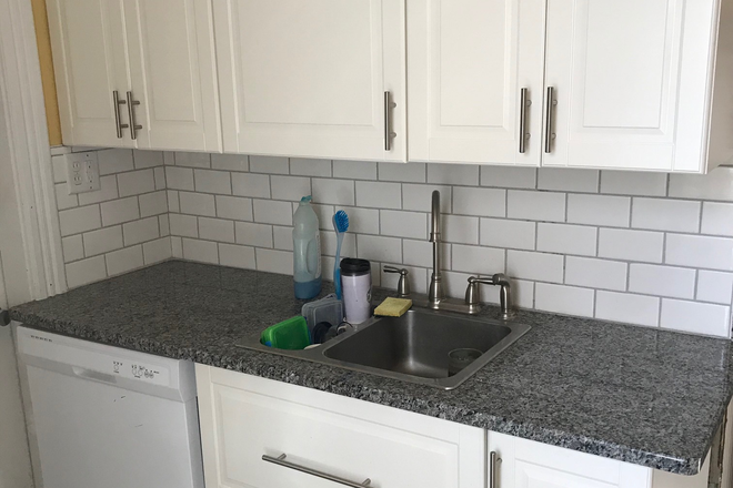 Kitchen Area - 3 Bedroom/1 Bath Duplex; quiet neighborhood, near bus lines Rental