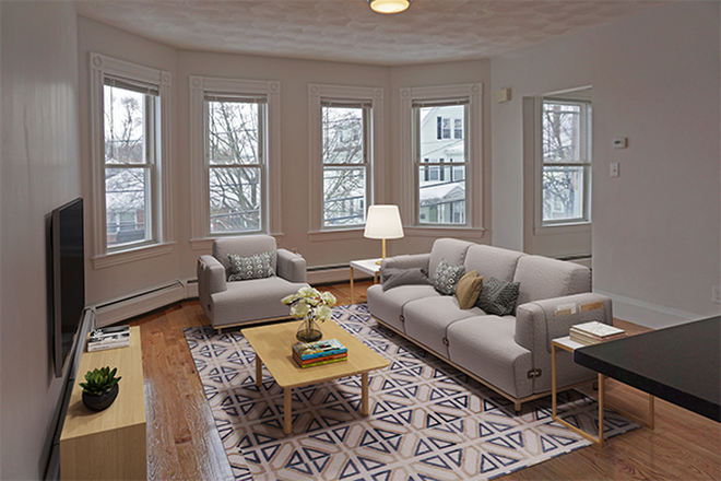 Living Room - ASH STREET - NEWLY RENOVATED 4 BED 2 BATH APARTMENT