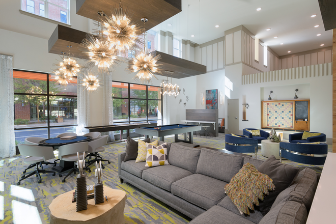 Clubroom - The Standard at Charlottesville Apartments