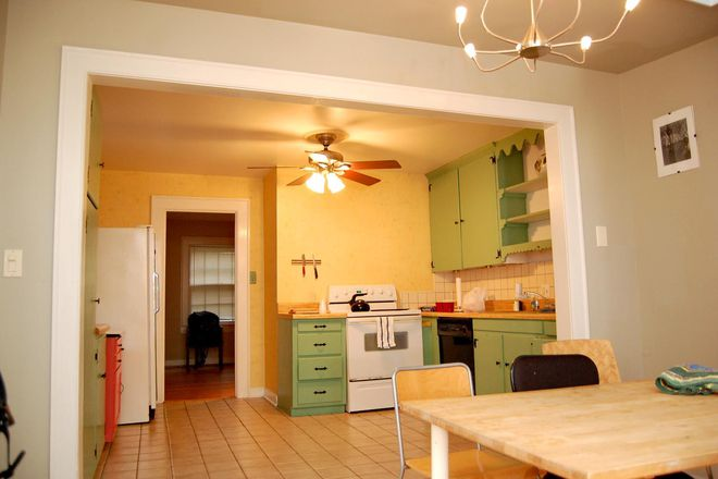 kitchen and dining - 3 BED/2 BATH HOUSE ,WALKING/BIKING DISTANCE FROM CAMPUS Rental