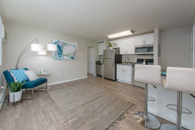 Open Concept Living Rooms & Kitchens - Aspen Chase -  All-Inclusive Apartments Minutes From Campus! Join Our Waitlist for Summer/Fall 2021!