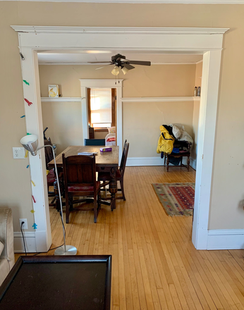 Dining Room - Upper Unit - Updated four-bedroom duplex, great access to mass transit Rental