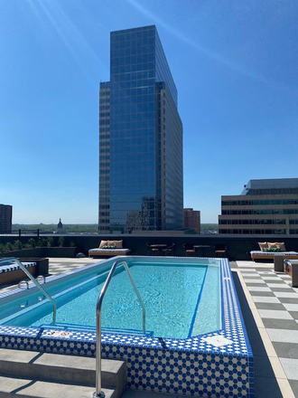 Rooftop Pool - Brand New Studios starting around $900 with the best amenities and 5 minute walk to St. Thomas Law Apartments