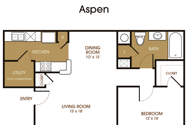 Aspen Renovated/Aspen one bed, one bath