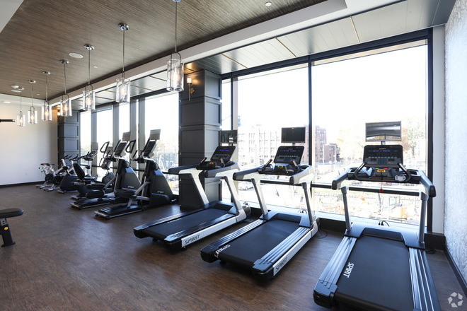 Fitness Center - Trellis House Apartments