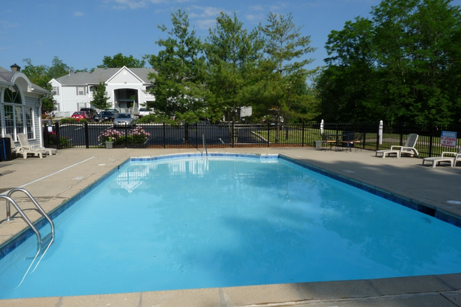 Sparkling Pool with Sundeck