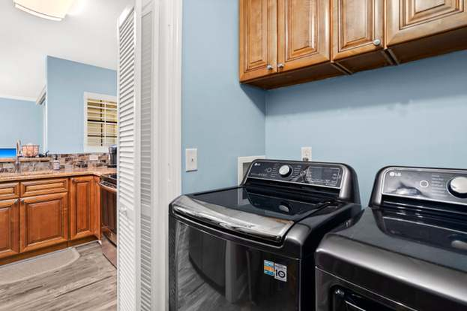 Laundry Room - 2 BR/2 BA Condo Across from Town Centre