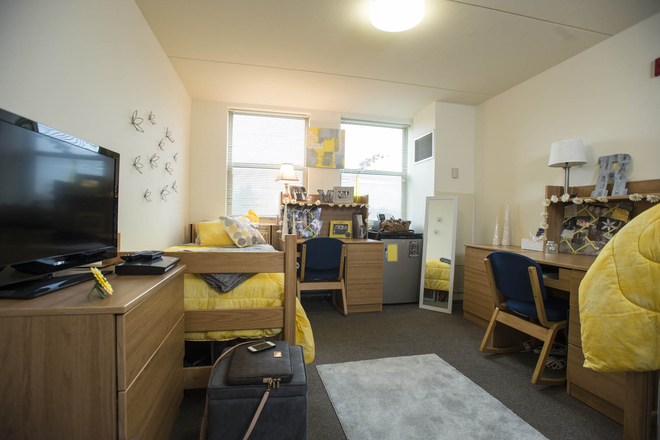 bedroom - First Year Residence Hall Rental