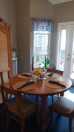 dining room - Large furnished bedroom.  5 mins from MUSC. Utilities, WIFI included. Rental