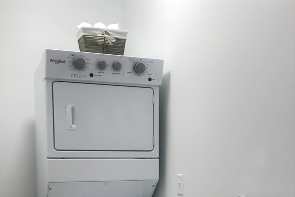 Washer and dryer in every apartment