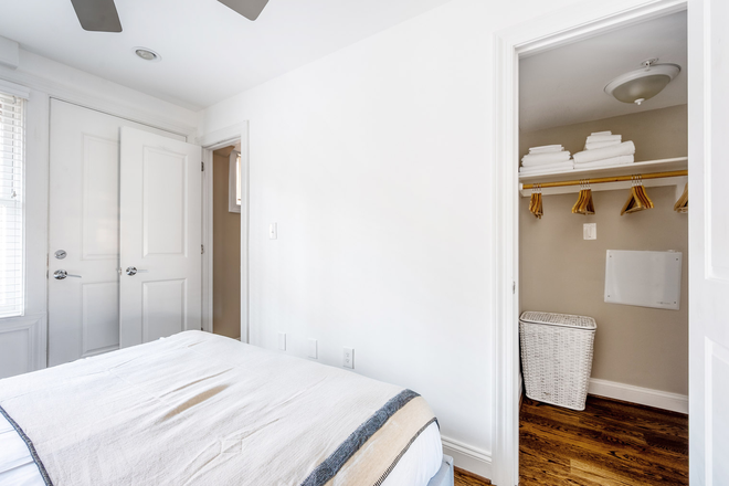 Closet - Furnished Mod Dupont Circle 2BR w/ W/D Apartments