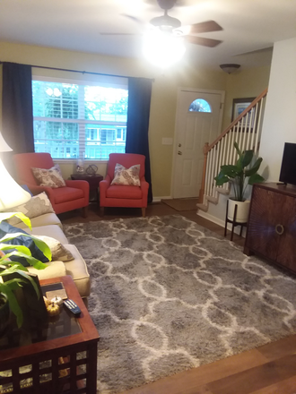living room - Large furnished bedroom.  5 mins from MUSC. Utilities, WIFI included. Rental