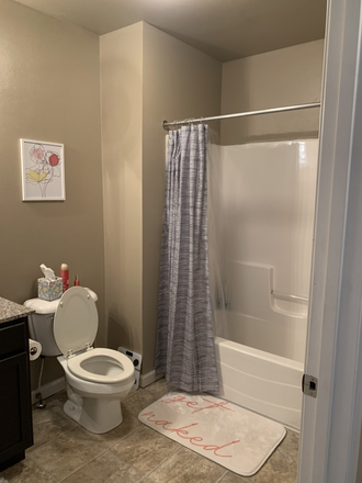 Bathroom - Sublet for spacious bedroom at The Wyatt (close to campus!) Apartments