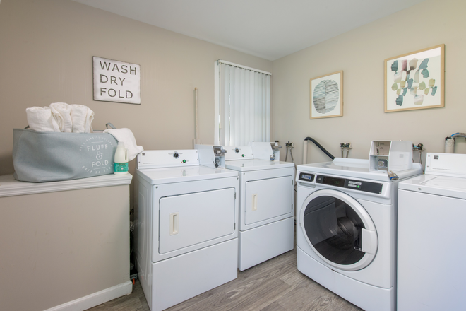 Laundry Room - Aspen Chase -  All-Inclusive Apartments Minutes From Campus! Join Our Waitlist for Summer/Fall 2021!