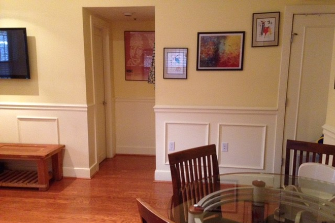 Living dining room - Dupont Circle 2bdrm/2bathrm Apt
