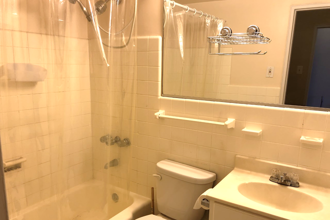 bathroom-view 2 - LOCATION! Large Sunny Riverview Studio near Rittenhouse Sq/University City (ALL UTILITIES INCLUDED) Condo