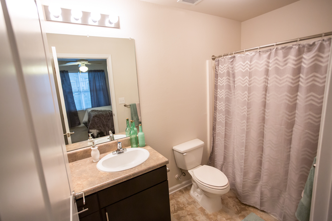 Private On-Suite Bathroom - The VUE at Cornerstone Apartments