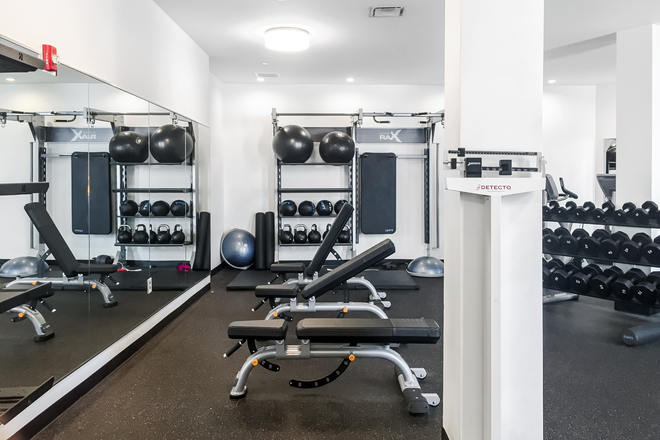 24 hour fitness center - Olympia Place Apartments
