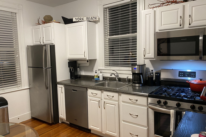 Kitchen - Beautiful Sunny Renovated 1 bed 1 bath Apartment with Parking
