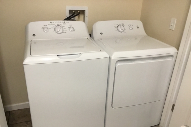 Washer and Dryer - Nobel Oaks 3 Expansion Apartments