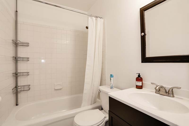 Bathroom - Private Furnished Full Room in Logan Circle #104 C Apartments