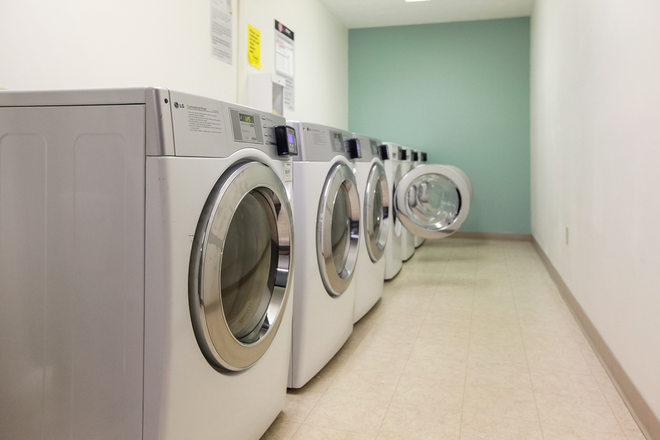 Laundry rooms state of the art equipment