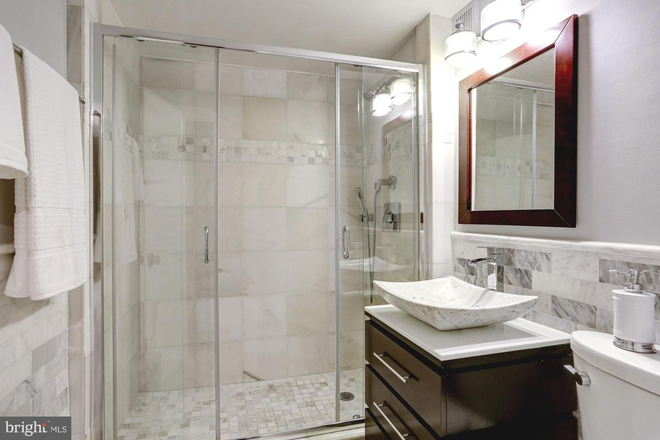 bathroom - Beautiful renovated unfurnished studio at heart of Dupont Circle FREE MONTH and ALL UTILS INCLUDED Condo