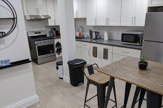 Shared Kitchen - New Modern Rm Available w/ Private Bath, In Unit W/D, Shared Kitchen w/ all new appliances Apartments