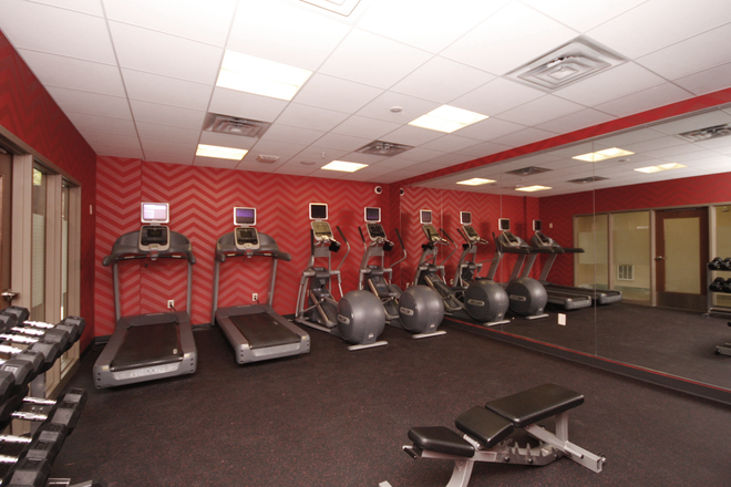 24 Hour Fitness Center - The Elysian Apartments