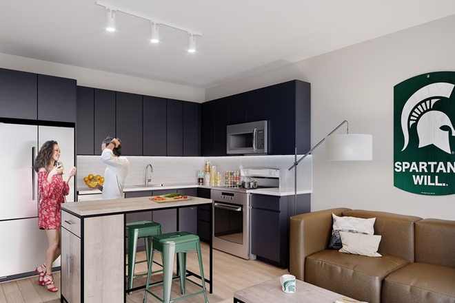 Modern, Open Floor Plan for Entertaining - The Abbot - Limited Availability For Fall 2020 - Apply Today! Apartments