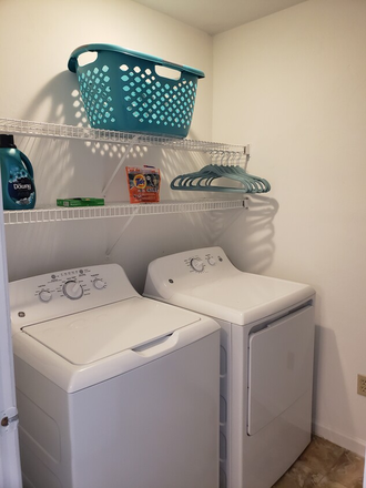 full size washer and dryer in every home