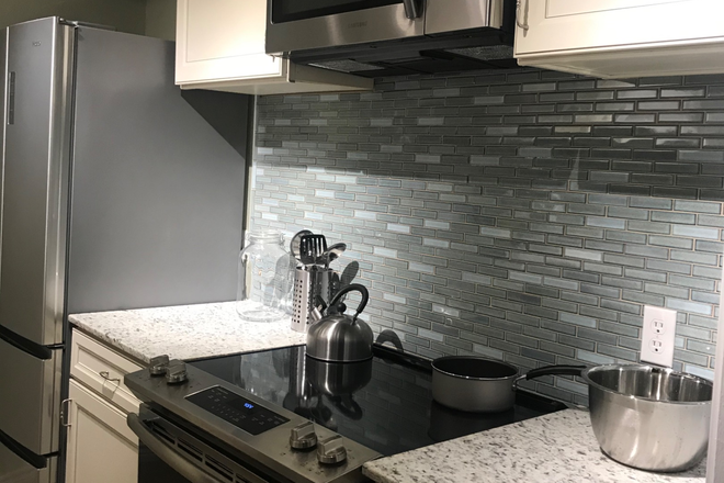 Kitchen - 2 Rooms Available In Ungraded Chic Condo for Rent Now!