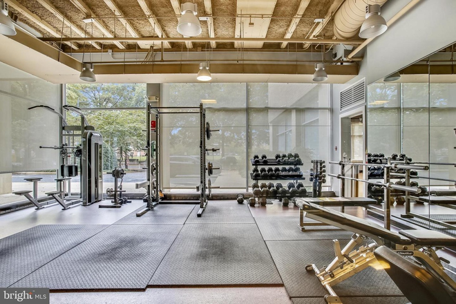 Fitness Center 1 - Southwest Waterfront Condo - Utilities Inc - Can Deliver Furnished