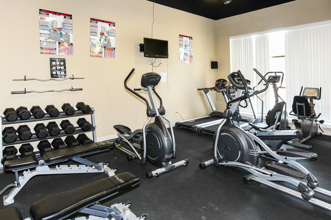 Newly equipped 24/7 Fitness Center
