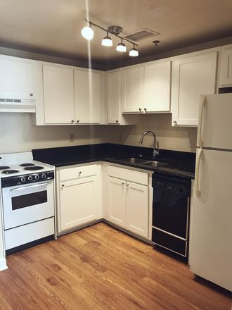 Upgraded kitchen with granite counter tops