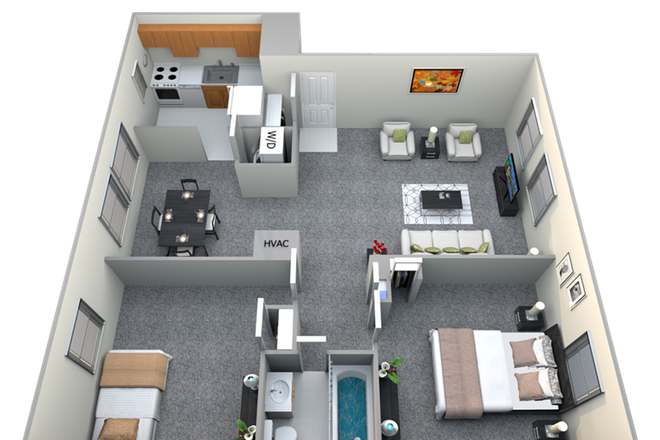 Floor plan - Donnybrook Apartments